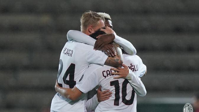 AC Milan lolos ke penyisihan grup Liga Europa (twitter/ac milan)