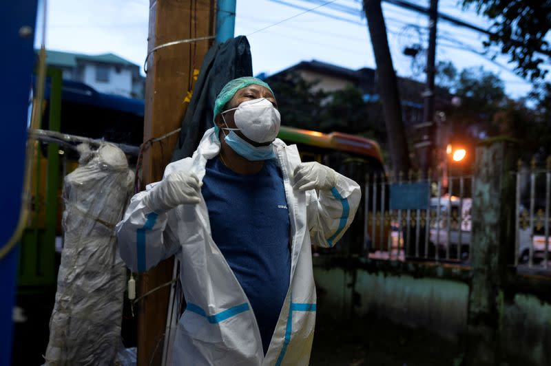 Myanmar volunteers under strain as coronavirus toll grows