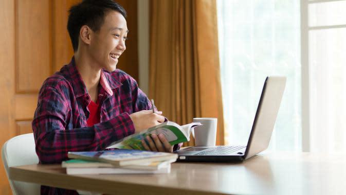 Ilustrasi Belajar dari Rumah/Shutterstock.