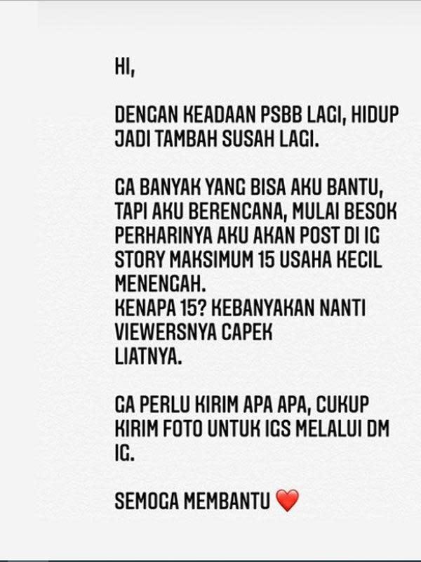 Atiqah Hasiholan (Foto: Instagram/@atiqahhasiholan)