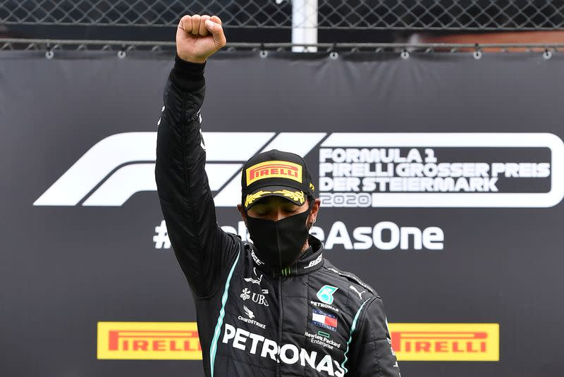 Hamilton wants Ferrari to do more in fight against racism