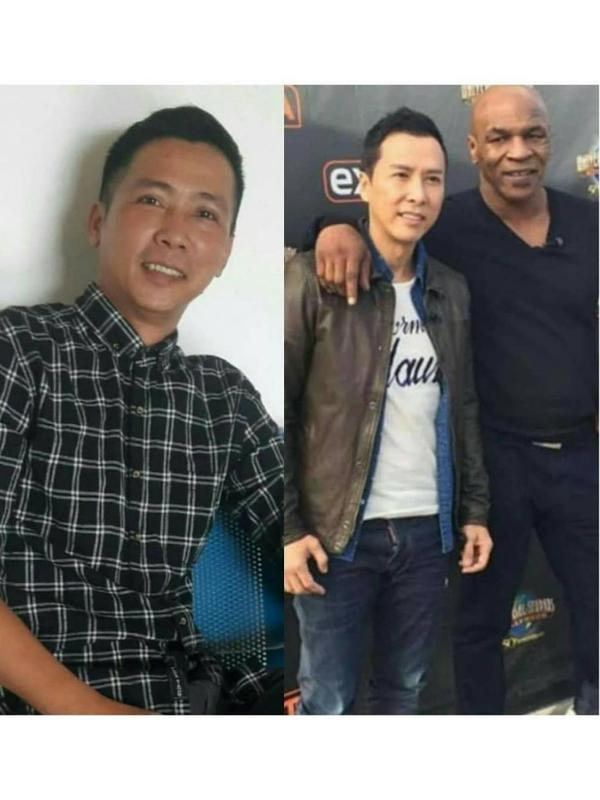 Sjak Fo Phang, pria Singkawang yang mirip Donnie Yen (Sumber: Instagram/sjakfophang)