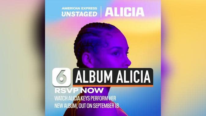 VIDEO: Catat, Alicia Keys Rilis Album Baru 18 September