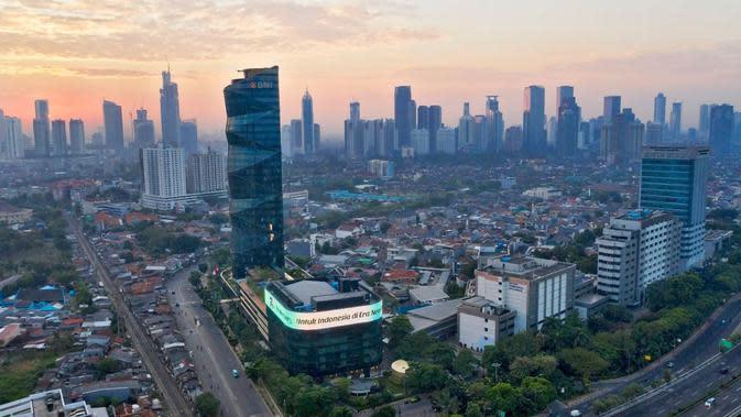 Gedung PT Bank Negara Indonesia (Persero) Tbk (BNI). (Foto BNI)
