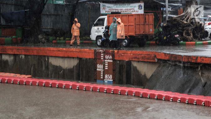 BPBD DKI Sebut Tinggi Muka Air Masih Aman, Namun Tetap Harus Waspada