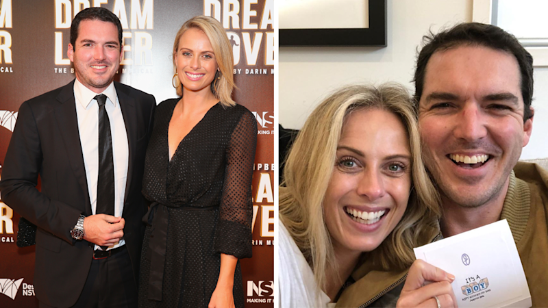 Sylvia Jeffreys pregnant: Newsreader and Peter Stefanovic expecting baby boy
