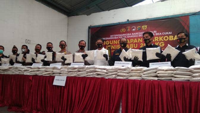 Gudang di Bekasi Jadi Lokasi Transit 200 Kg Sabu dalam Karung Jagung