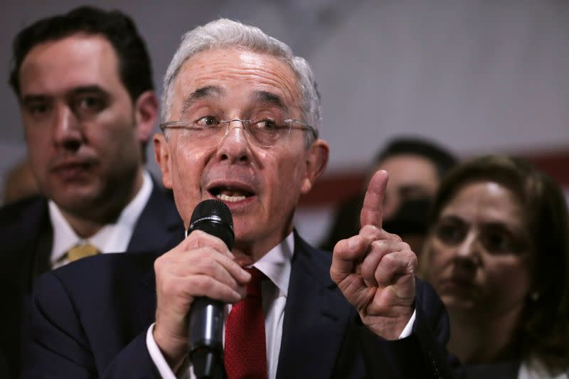 Arrest of Colombia's Uribe will not curb his power but has focused party on reform