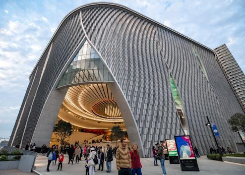 Rehearsals at the Xiqu Centre, part of the West Kowloon Cultural District, have returned but most of its activities are cancelled until next month. Photo: Handout
