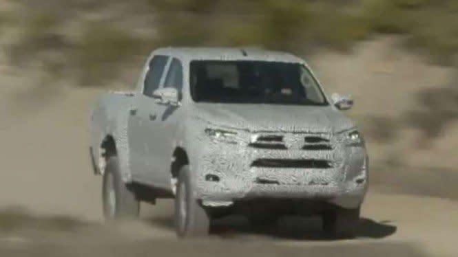 Gak Cuma Fortuner, Toyota Bakal Luncurkan Mobil Pikap Baru