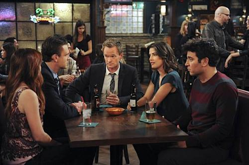 The cast of CBS' 'How I Met Your Mother' -- CBS