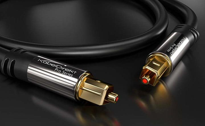 kabeldirekt optical audio cable