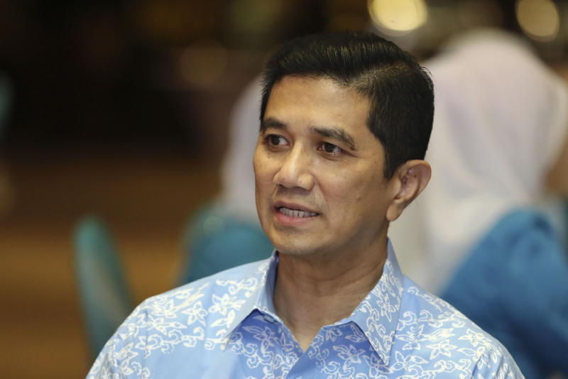 Azmin said he has told his lawyers to take appropriate legal action against those who made the allegations and other perpetrators. — Picture by Yusof Mat Isa