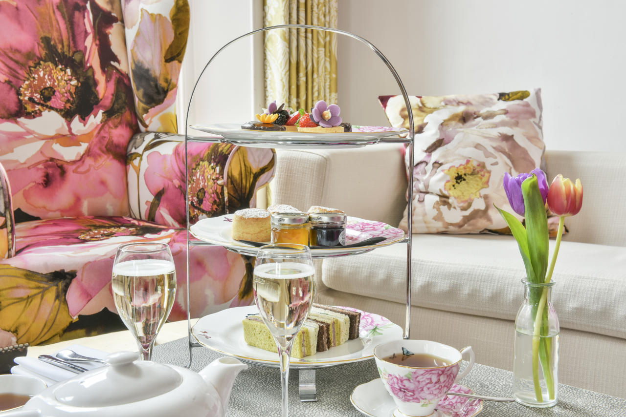<p>The Taittinger Floral Afternoon Tea at The Pelham in oh-so-pleasant South Kensington is pretty, feminine, and the perfect idea for a girls' catch-up or a get-together with your mum. And for AUD$96 you can indulge in cucumber and cream cheese, ham and mustard and smoked salmon and chive butter sandwiches, a variety of cakes, scones and free-flowing Taittinger Champagne for an hour and a half. Picture: Supplied. </p>