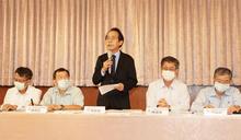 林欽榮出席乙烯外洩檢討會後記者會(2) (圖)