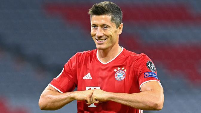 Robert Lewandowski (Bayern Munchen) - Finalis UEFA Men's Player of the Year. (AFP/Tobias Schwarz)