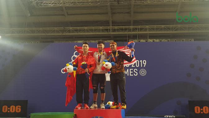 Cerita Mimpi Aneh sebelum Rahmat Abdullah Meraih Emas SEA Games 2019
