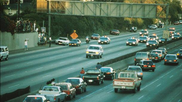 June 17: O.J. Simpson flees in a white Ford Bronco on this date in 1994