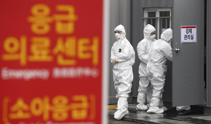 Virus Outbreak South Korea