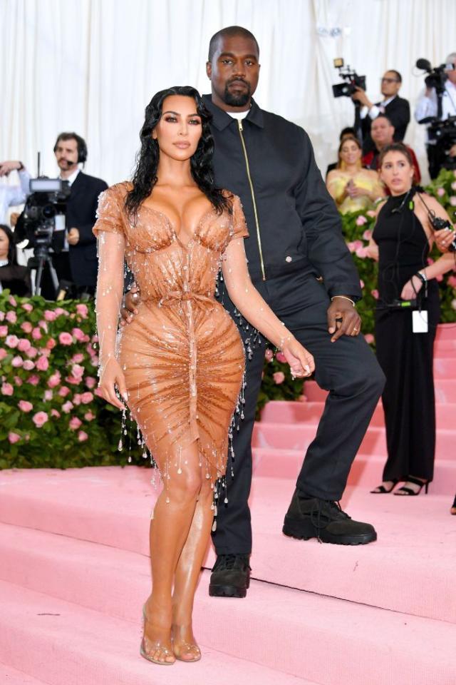 Kanye West and Kim Kim Kardashian