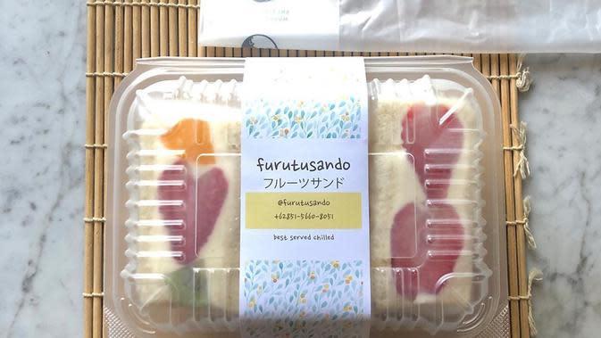 Japanese Fruit Sandwich Furutu Sando