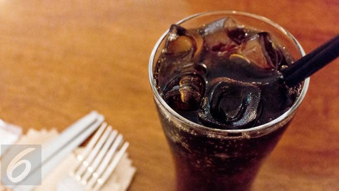 Ilustrasi Foto Minuman Soda (iStockphoto)