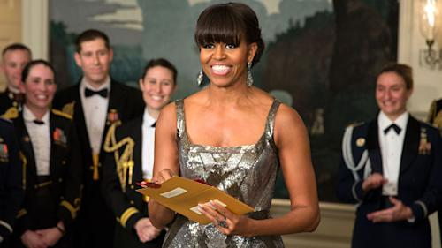 Michelle Obama's Oscar appearance getting thumbs down from conservative critics