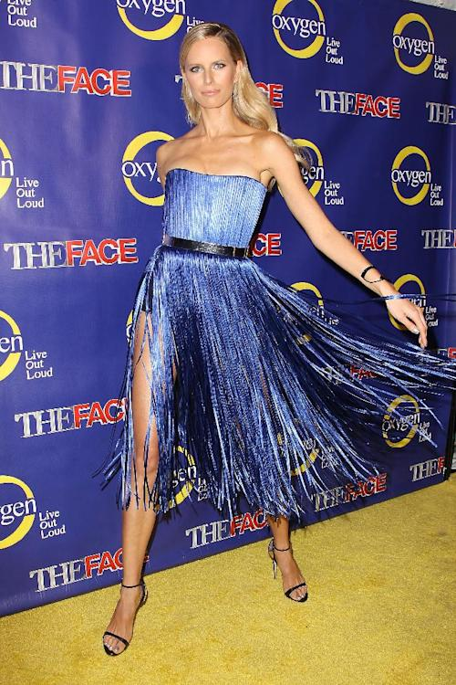 "This Feb. 5, 2013 photo released by Starpix shows model Karolina Kurkova at the premiere of the Oxygen network series, ""The Face,"" in New York. Kurkova, along with models Naomi Campbell and Coco Rocha, are coaches to aspiring models in a competition to find the next face of beauty retailer ULTA Beauty. The show, hosted by fashion photographer Nigel Barker, premieres on Feb. 12 at 9 p.m. EST on Oxygen. (AP Photo/Starpix, Kristina Bumphrey)"
