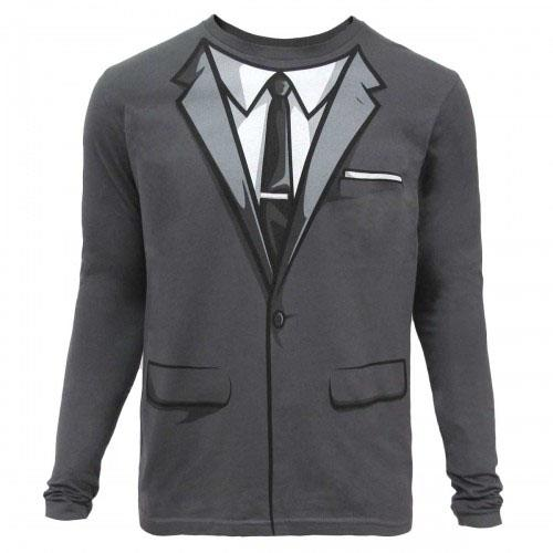 """Archer"" Suit Long Sleeve Shirt"
