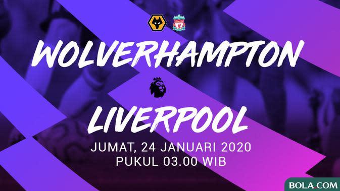 Premier League - Wolverhampton Wanderers Vs Liverpool (Bola.com/Adreanus Titus)