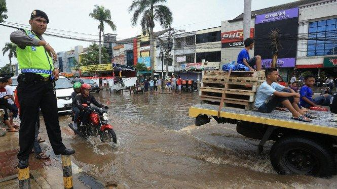 23 Jalan di Jakarta Barat Terendam Banjir, Ini Lokasinya