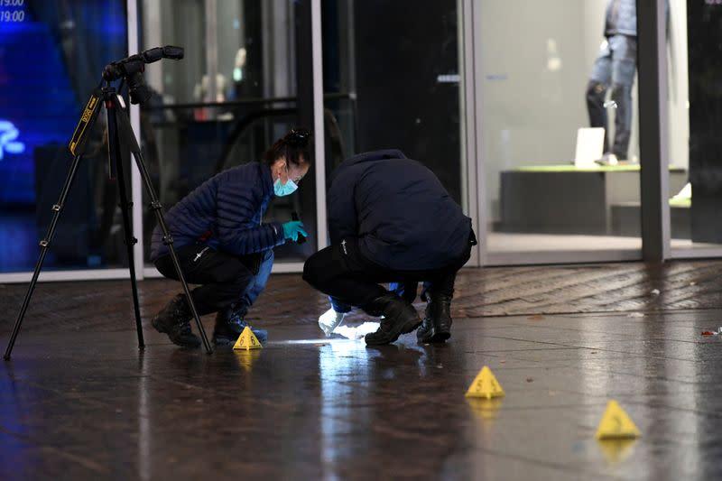 Stabbing in Netherlands