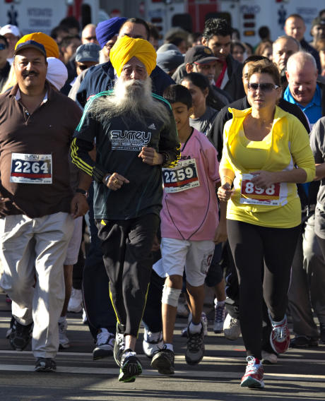 Oldest runner