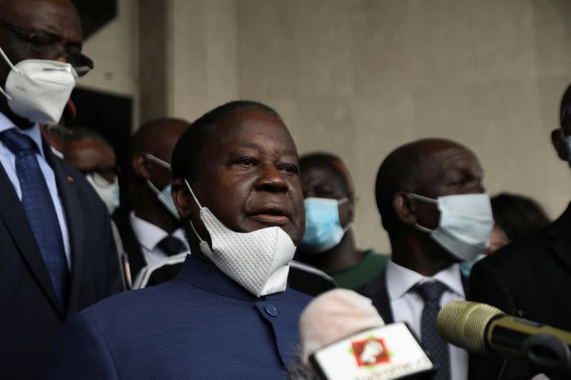 Ivory Coast's Bedie promises to let exiles return if elected president