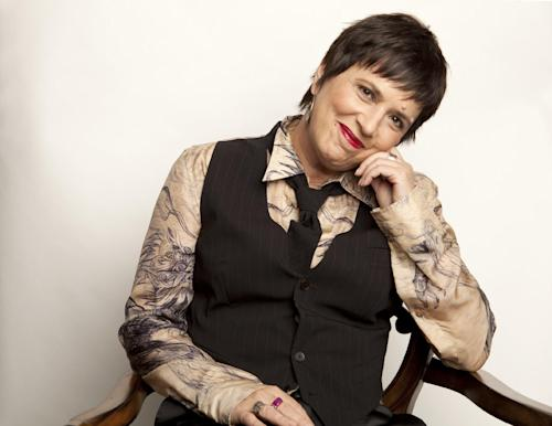 This Nov. 8, 2012 photo shows American playwright and Broadway producer Eve Ensler posing for a portrait in New York. (Photo by Amy Sussman/Invision/AP)