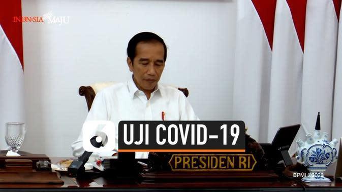 VIDEO: Jokowi Naikkan Target Uji Spesimen Corona 20 Ribu Per Hari