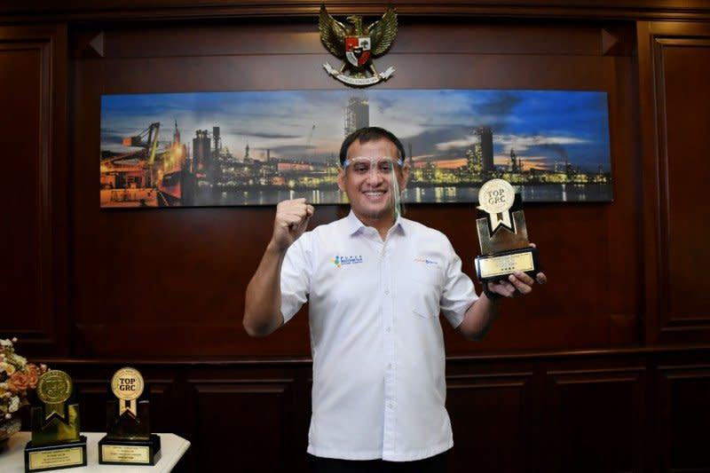 Pupuk Kaltim raih tiga penghargaan Top GRC Award 2020