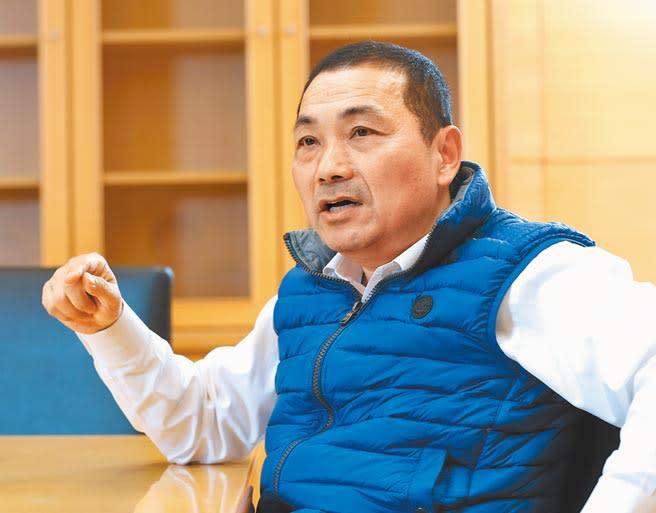 新北市長侯友宜。(本報資料照片)