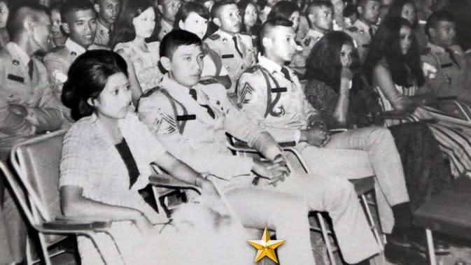 Potret kebersamaan SBY dan Ani Yudhoyono 43 tahun lalu. (dok. Instagram @aniyudhoyono/https://www.instagram.com/p/B5oglRxpkh6/Putu Elmira)