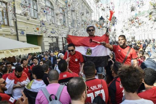 Egyptian fans adding colour to the World Cup's 'Tower of Babel'
