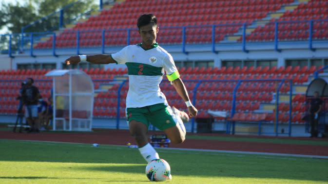 Bek Timnas Indonesia U-19, Pratama Arhan. (PSSI)