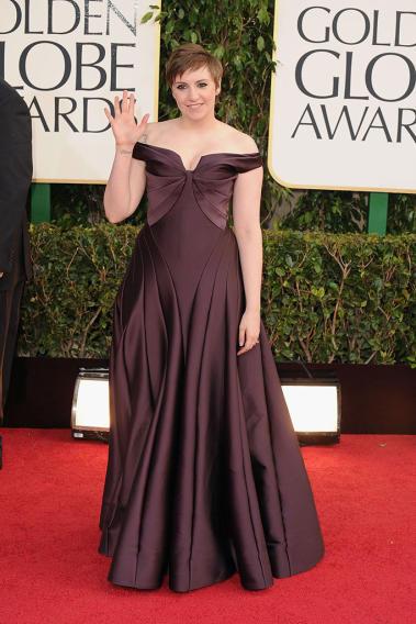 70th Annual Golden Globe Awards - Arrivals: Lena Dunham
