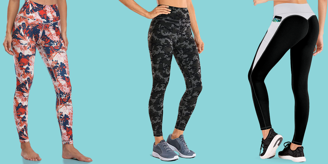 """<p>It's safe to say leggings are must-haves in your closet, but with so many styles to choose from (not to mention, a wide range of price points), it's hard to know which ones are <em>actually</em> <em></em>worth the splurge. </p><p>The <a href=""""https://www.goodhousekeeping.com/institute/about-the-institute/a19748212/good-housekeeping-institute-product-reviews/"""" target=""""_blank"""">Good Housekeeping Institute</a> Textiles Lab tests leggings for things like durability, moisture management, comfort, and performance features, and our fashion editors weigh in with the most <a href=""""https://www.goodhousekeeping.com/clothing/g27206929/best-black-leggings/"""" target=""""_blank"""">stylish leggings for everyday wear</a> to find the best, longest-lasting, and most comfortable leggings out there. When you're shopping for leggings, consider when you'll be wearing them. Here's what to keep in mind:</p><ul><li><strong><a href=""""//www.goodhousekeeping.com/health-products/g4042/best-workout-leggings/"""" target=""""_blank"""">Workout leggings</a></strong>:  Synthetic performance fabrics (like polyester or nylon) are ideal for workout leggings because they are stretchy, durable, opaque, and often moisture-wicking to help manage sweat. Look for flat interior seams to prevent irritation and friction.</li><li><strong>Leggings to wear as pants:</strong> You can wear leggings as pants or even to work if they're made of thicker fabric like ponte and faux leather. To make sure fabric isn't see-through, try the leggings in natural daylight or under a bright light. Bend over in front of a mirror or check for show-through by deeply bending your knee. </li><li><strong><a href=""""https://www.goodhousekeeping.com/clothing/g32006182/best-loungewear-brands/"""" target=""""_blank"""">Loungewear</a> leggings:</strong> Don't need leggings to be fully opaque? Opt for a plant-based fiber like cotton, lyocell, or modal if you want a super-soft pair to wear 24/7 or to layer under longer tops or dresses.</li></ul><p>The leggings ahead a"""