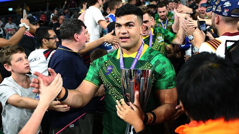 WORLD CUP 9S RUGBY LEAGUE David Fifita