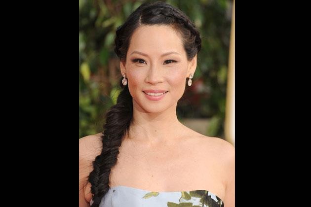 Braided For a playful effect to the hair, add texture with braids. Lucy Liu steps away from the traditional braid and tries a fishtail version instead at the recent Golden Globes. Choose to put it on the side for a more feminine look.