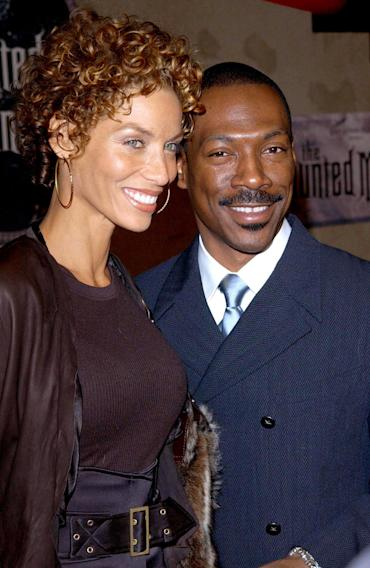 Nicole Murphy and Eddie Murphy