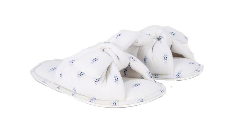 Cotton Knot Slippers