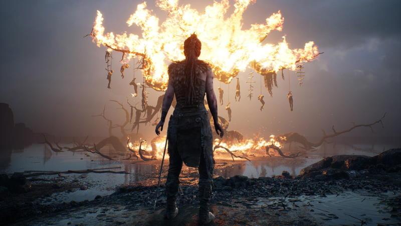 Hellblade: Senua's Sacrifice fire