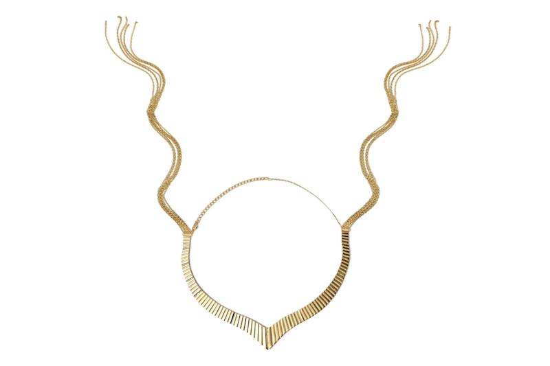 "When unhooked,&nbsp;<a href=""https://unboundbabes.com/products/golden-whip-necklace"" target=""_blank"" rel=""noopener noreferrer"">this necklace</a>&nbsp;turns into a function (and stylish) accessory for light BDSM play."