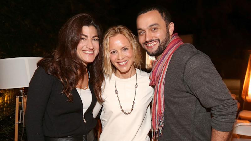 Maria Bello Hosts Home Screening of Jehane Noujaim's Documentary 'The Square'